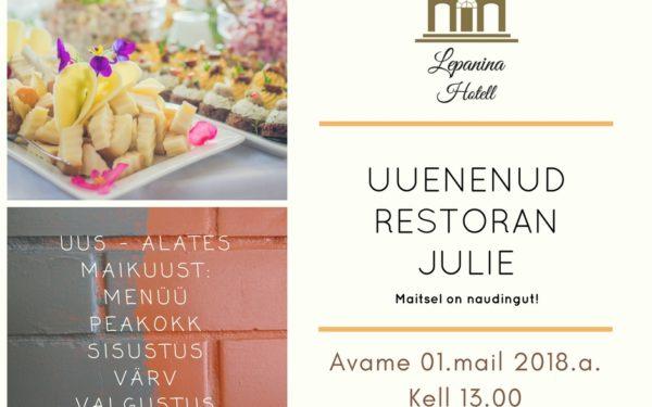 Remont restoranis – uus on moes!